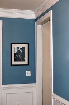 labrador blue paint - Google Search *love the blue/white/taupey-grey combo for our trim/ceiling style. (is it a little too dark for the walls?)*