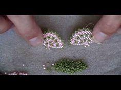 Beaded Fan Earrings Part 2 - YouTube#t=4m59.2s