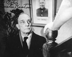 "#BusterKeaton in ""The Awakening, NBC-TV July 14, 1954. Buster excelled in this dramatic role. #BusterLove#classictv #goldenage #goldenageoftelevision"