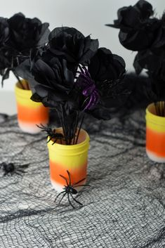 DIY Candy Corn Cente
