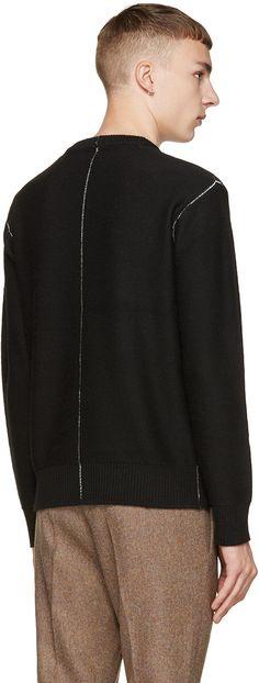 Rag & Bone Black Wade Sweater