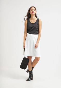 KIOMI A-line skirt - white for £26.00 (19/01/16) with free delivery at Zalando