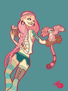 Explorer Character by MeoMai.deviantart.com on @DeviantArt