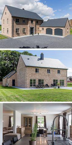 Une #maison qui nous ressemble  Après avoir vécu chacun de leur côté dans des #fermettes #anciennes, les propriétaires ont décidé de sauter le pas en construisant la #maison de leurs #rêves. #Spacieuse, ouverte mais #chaleureuse, la #bâtisse a tout bon !