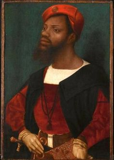 Portrait of an African by Jan Jansz Mostaert. Painted around 1525, it is the earliest portrait of a black African survived from the Renaissance. https://gerryco23.wordpress.com/2012/10/19/shakespeare-staging-the-world/