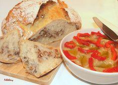 Padlizsánkrém diós kenyérrel – Felhőlány Dios