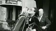 East Side socialites photographed as they walked in and out of Manhattan's most storied restaurants.