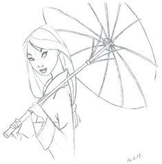 disney art sketches - Google Search
