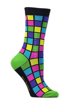 The Joy of Socks - Bright Mosaic Socks (Women's), $7.25 (http://www.joyofsocks.com/bright-mosaic-socks-womens/)