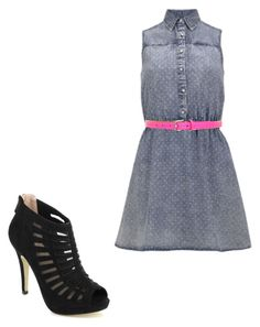 Untitled #26 by kyliesue22 on Polyvore featuring polyvore, fashion, style, Neon Rose, Pinky and Fausto Colato