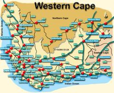 cape town to namibia road map - Google Search Victoria West, Beaufort West, Three Sisters, Cape Town, Map, Google Search, Location Map, Maps