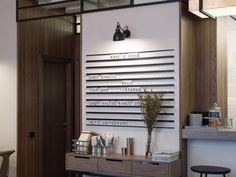 Interior design and identity for Nude. Coffee & Wine Bar