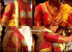 Bridal Saree Blouse Designs by Zari Anju Shankar ~ Celebrity Sarees, Designer Sarees, Bridal Sarees, Latest Blouse Designs 2014