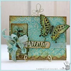 Love You Friend Card by Tammy Tutterow