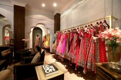 India's ace fashion designer, Manish Malhotra, opens first flagship store in New Delhi. Located at Mehrauli, the store spells traditional luxury as the products strongly focus on bridal wear and co...