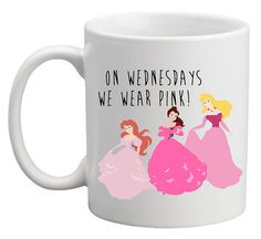 Mean girls princess quote on coffee mug cup  unique & by missharry