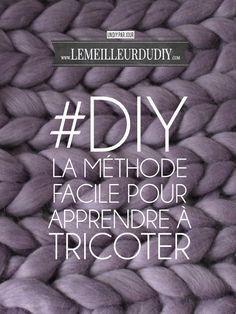 DIYLa méthode facile pour apprendre à tricoter