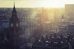 London's rising sun