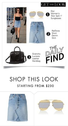 """""""STREET STYLE #7"""" by karalaska ❤ liked on Polyvore featuring RE/DONE, Christian Dior and Givenchy"""