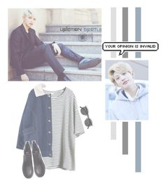 """""""Kim Jin Wook"""" by lazy-alien ❤ liked on Polyvore featuring H&M, Retrò, up10tion, Jinhoo and KimJinWook"""