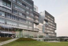 IT Convergence Building / Kyu Sung Woo Architects