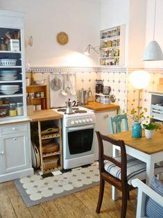 tessituras: Uma cozinha pequenina e graciosa