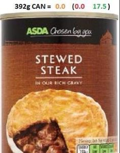 Asda Stewed Steak
