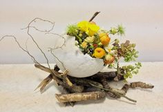Easter floral display