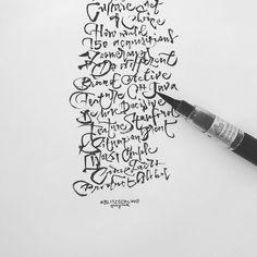 #lettering #handlettering #practice