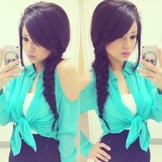 Cute Braid and nice outfit ❤❤