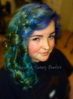 Mermaid Vivids by Kimberly Bamford, Newburyport, Ma