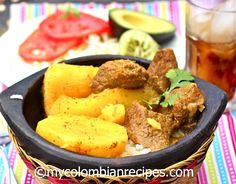 Colombian-Style Beef Stew