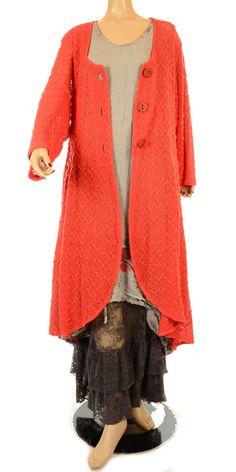 Martine Samoun Funky Grey Newsprint Collection Dress-Martine Samoun, lagenlook, womens plus size UK clothing, ladies plus size lagenlook fashion clothing, plus size coats, plus size dresses, plus size jackets, plus size trousers, plus size skirts, plus size petticoats, plus size blouses, plus size shirts, plus size tops, plus size tunics, lagenlook plus size fashion clothing