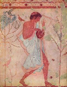 Etruscan Fresco