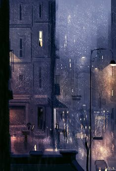 Rainy January by PascalCampion.deviantart.com on @DeviantArt