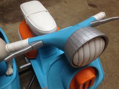Margo's Scooter 3D Printable, 3D print, MakerBot,