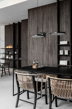 De Padova Gdańsk on Behance Dining Room Furniture, Dining Chairs, Dining Table, Behance, Study Areas, Architecture Design, Living Spaces, Cool Designs, New Homes