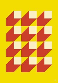 Saved by my.s art & design (mysss). Discover more of the best Design, -, Art, Graphic, and Pattern inspiration on Designspiration Geometry Pattern, Pattern Art, Abstract Pattern, Pattern Ideas, Pattern Images, Red Pattern, Op Art, Image Deco, Motif Vintage