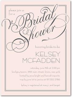 Elegant Wishes - Signature White Bridal Shower Invitations - Sarah Hawkins Designs - Chenille - Pink : Front Paris Bridal Shower, White Bridal Shower, Gold Bridal Showers, Bridal Shower Invitations, Wedding Stationery, Invites, Invitation Ideas, Online Invitations, Wedding Planner Guide