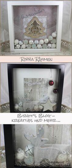ribba rahmen die 2te birgit 39 s blog craft ideas pinterest weihnachten basteln und. Black Bedroom Furniture Sets. Home Design Ideas