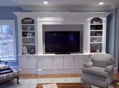 Best Lets Entertain Me Images On Pinterest Basement Ideas - Built in media center designs