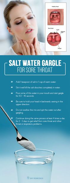 Here are some of the benefits which we get from doing salt water gargle for clearing sore throat.