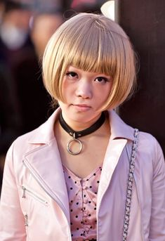 Cool Japanese Bob Hairstyle