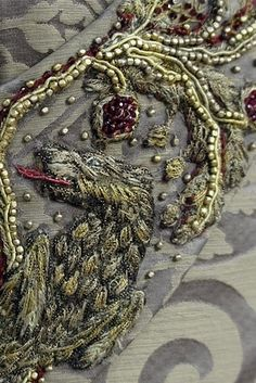 WOW! Close-ups of the Game of Thrones costumes! Such amazing detail!