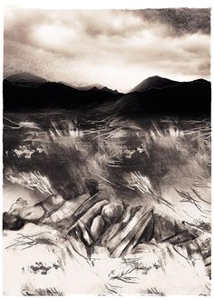 Janet Botes | Land's Energy Ed.1/7, for sale | StateoftheART Digital Collage, Digital Art, Fine Art Paper, Landing, Gallery, Artwork, Artist, Prints, Image