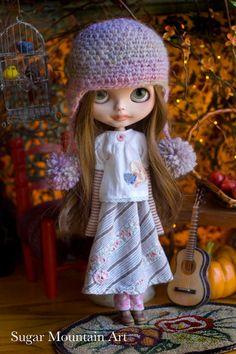 Joyful Dance. Sugar Mountain Top Cotton Skirt by SugarMountainArt