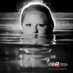 Girl Water reflection Senior Portrait by Ryan David Jackson Photography located in Fayetteville, NC. www.seniorportraits.ryandavidjackson.com  #outdoorportraits #ncportraits #northcarolina #photography #photographer #ncseniorportraits #bestphotographer #fayettevillephotography