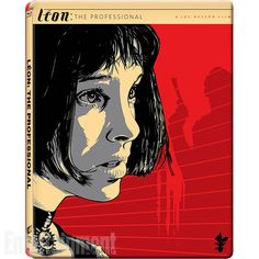 Leon: The Professional movie poster (Bluray cover art). Illustration by Jeff Boyes.