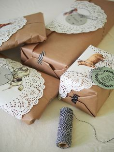 Paquets cadeau - Celestine et compagnie