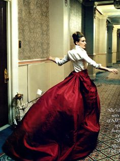 Sarah Jessica Parker by Annie Leibovitz for Vogue US September 2005